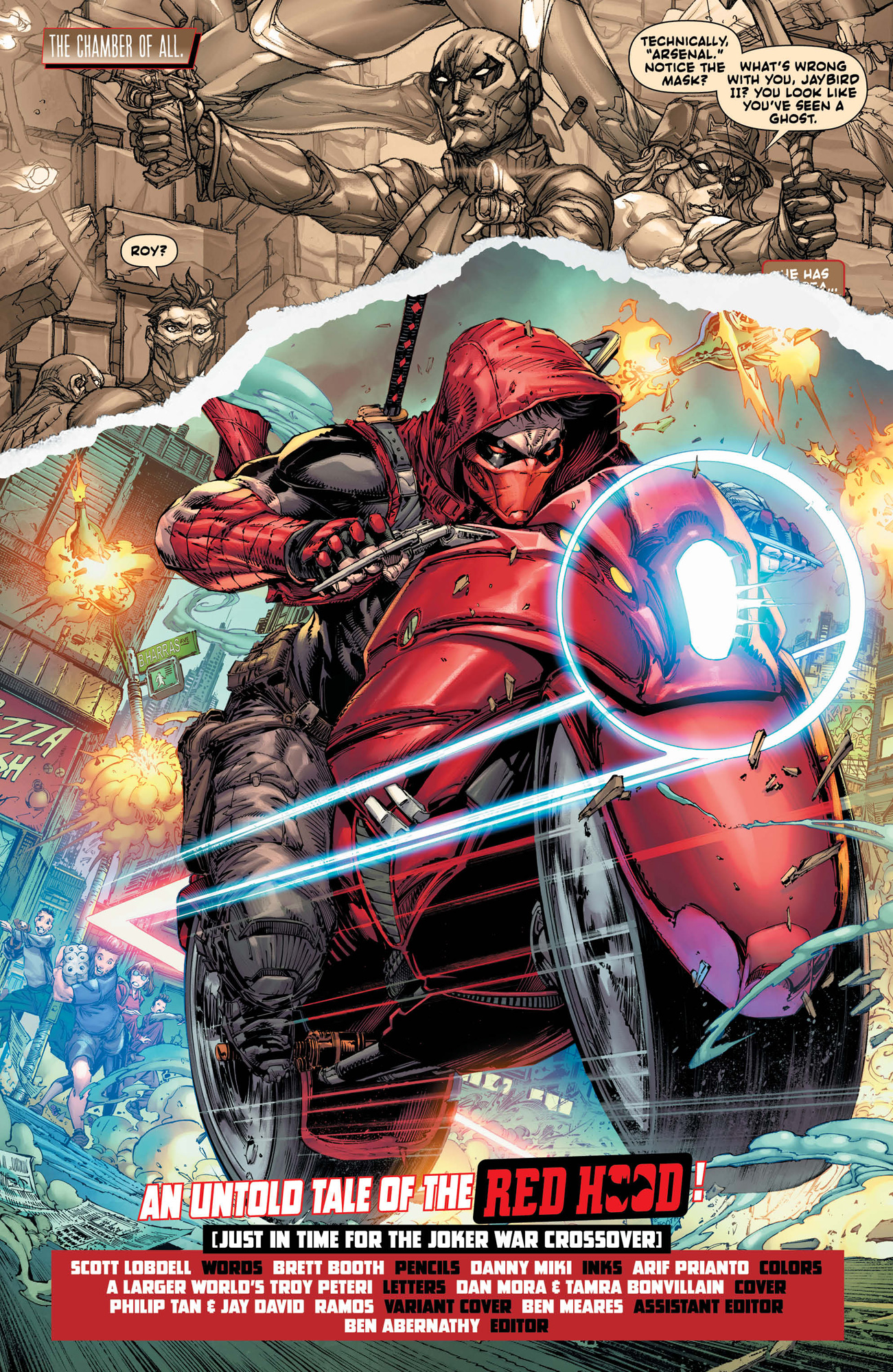 Red Hood Outlaw 48 4 Page Preview And Covers Released By Dc Comics