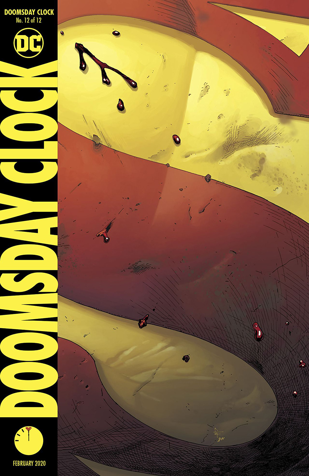 Doomsday Clock 12 3 Page Preview And Covers Released By Dc Comics