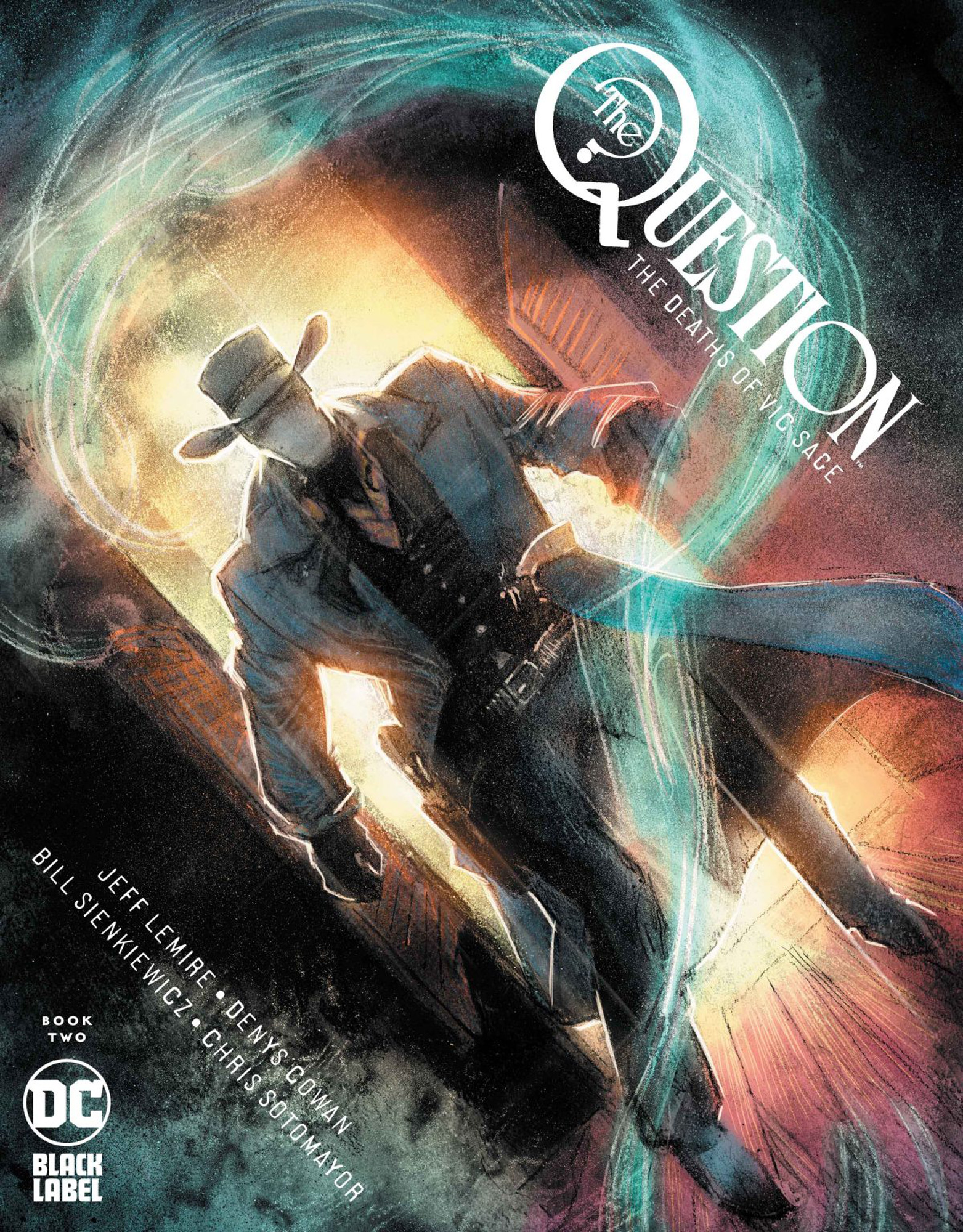 OF 4 QUESTION THE DEATHS OF VIC SAGE #4 COVER A COWAN 8//18 2020